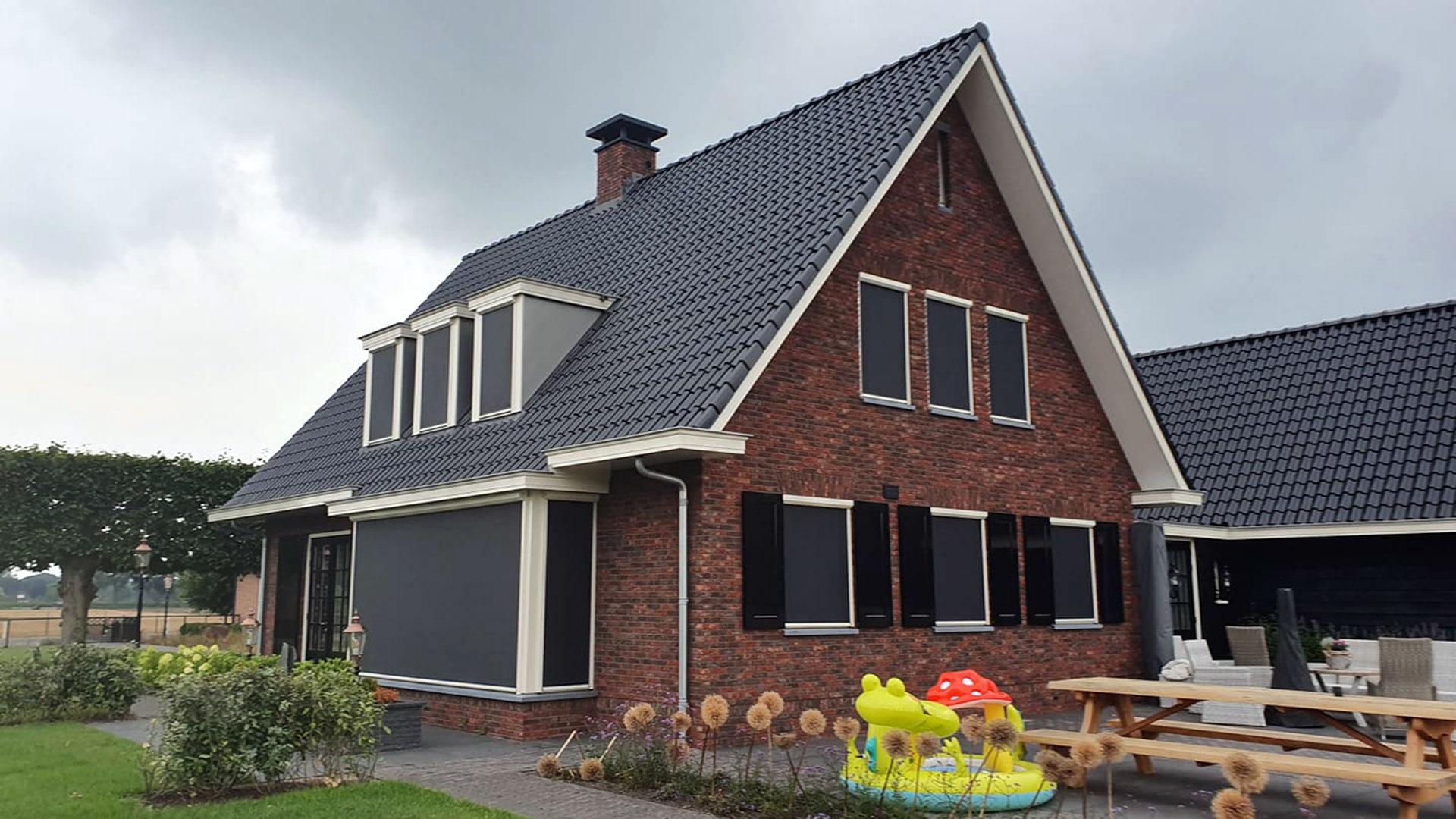 Zonwering - Screens - ontdek het aanbod bij Groenevelt Zonwering & Raamdecoratie