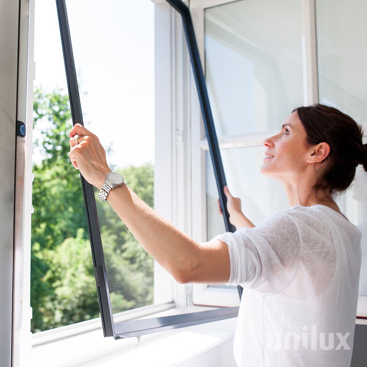 Unilux - Inklemhor - Groenevelt Zonwering & Raamdecoratie