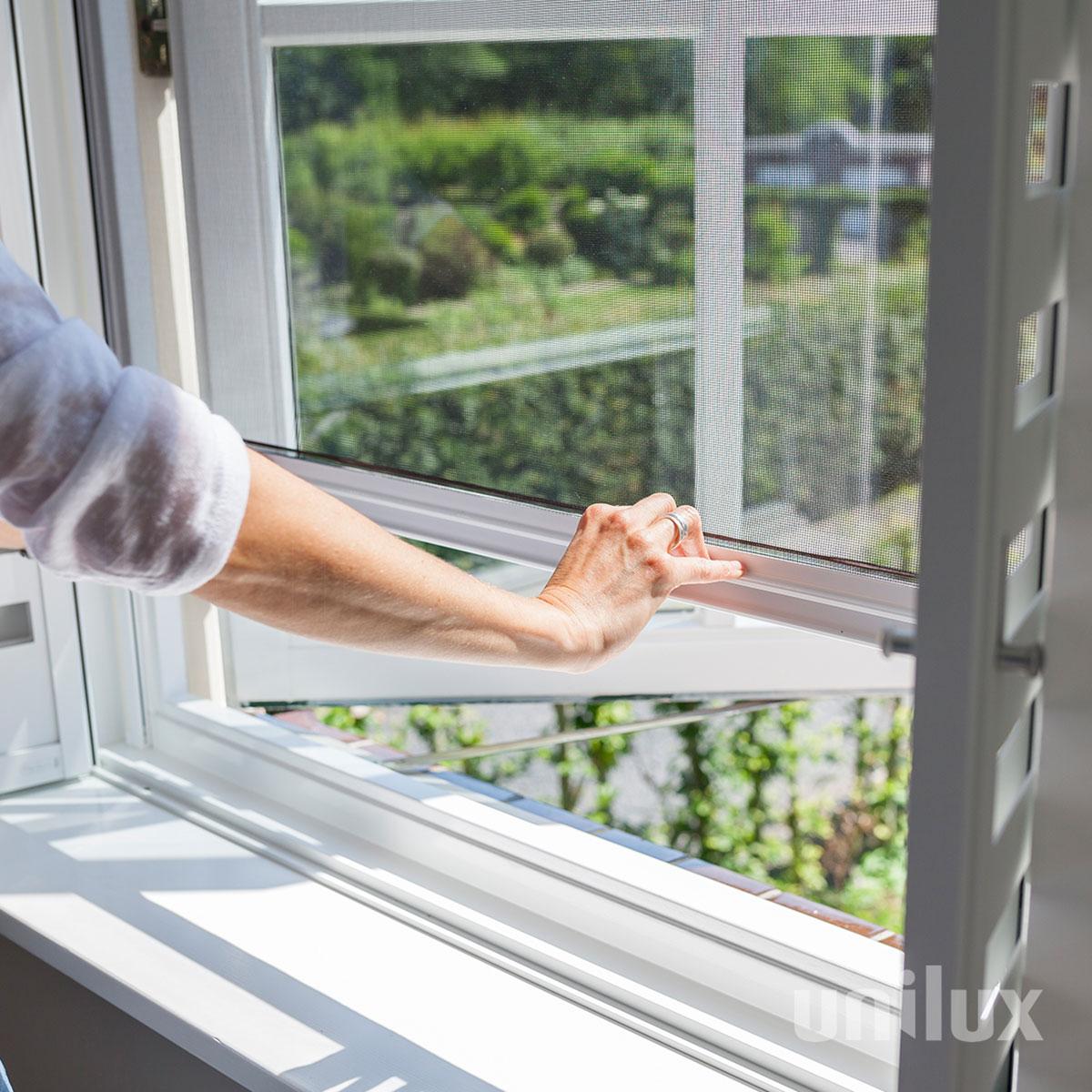 Horren van Unilux - Groenevelt Zonwering & Raamdecoratie.
