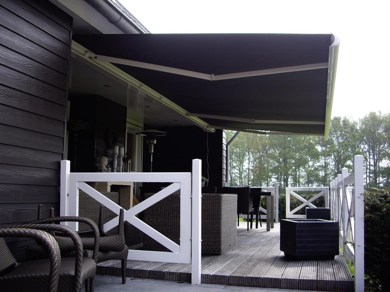 Hulsol - Knikarmscherm - Groenevelt Zonwering & Raamdecoratie